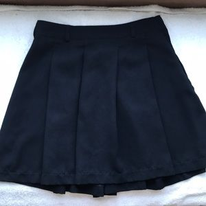 Abercrombie and Fitch Black Skater Skirt